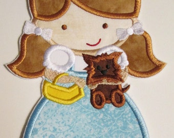 Iron On Applique - Dorothy Doll