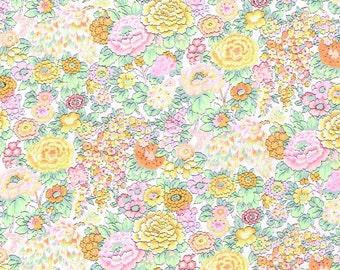 Elysian W Yellow Liberty Fabric Tana Lawn Cotton Half Yard