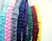 Braided Jersey Headband Trio - Soft Stretch Fabric Headbands - Multiple Colors Available - Ready To Ship