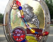 Horse Shoe Luck Mini Stained glass