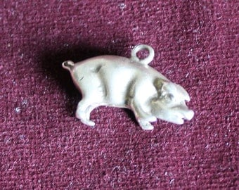 FREE SHIPPING Little pig charm pendant