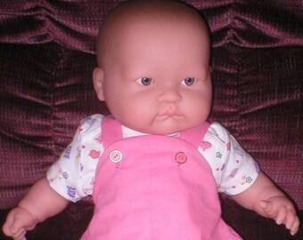 Baby doll and wardrobe