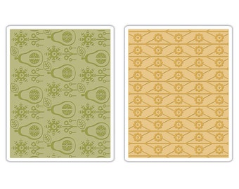 Sizzix Textured Impressions - Flowers & Pears