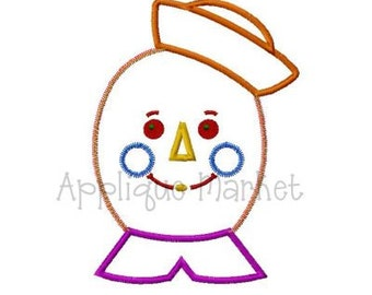 Machine Embroidery Design Applique Andrew Doll 3D INSTANT DOWNLOAD