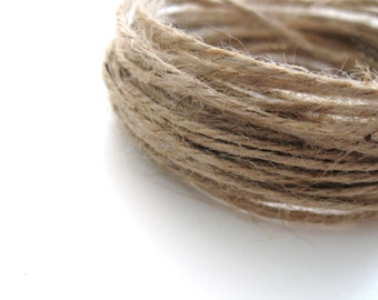 Natural thick jute twine - 5m - Two colors available