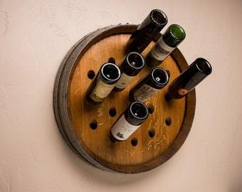 Napa Valley Wine Barrel Wine Rack - 19 Bottle