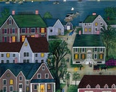 Evening on Nantucket - Limited Edition Print _ by J.L. Munro