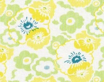 Wash Day Ticking in Dandelion (HB13-Dandelion) - Nicey Jane by Heather Bailey - BTY - Free Spirit