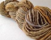 Tarnish - handspun yarn, Aran weight