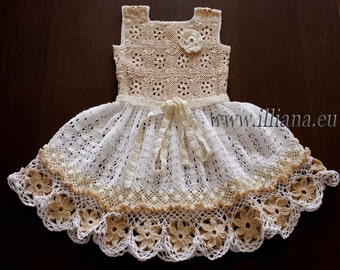 Crochet dress. PDF Pattern . No 85