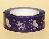 NamiNami Washi Masking Tape - Zodiac in Navy Blue