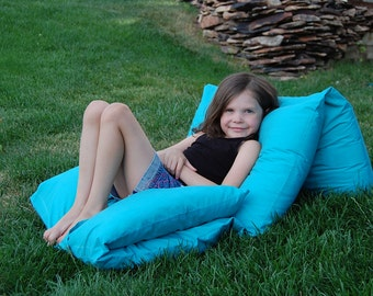 Pillow Lounger Pattern PDF Kids Baby Child Pillow floor LOUNGER Pillow Bed - PDF tutorial