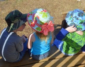 Reversible Bucket Hat PDF Sewing Pattern ... New ... 2 Versions Included