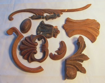 Applied Moldings for Various Furniture Projects