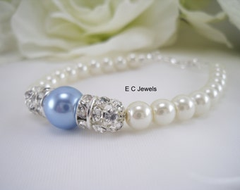 Something Blue Luxe Elegance Bracelet