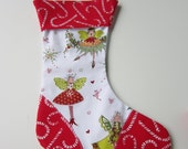 Christmas Stocking Pixie Fairy Sprite