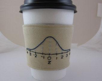 Normal Distribution Coffee Cozy