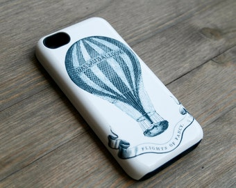 iPhone 6 Case Vintage Hot Air Balloon iPhone 6S Case, Flights of Fancy iPhone 5S,  Case iPhone 6plus Case