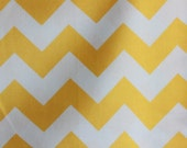 Riley Blake Medium Chevrons Yellow
