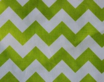 Riley Blake Medium Chevrons Lime
