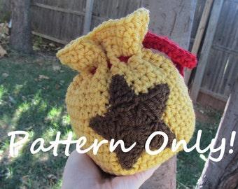 PATTERN - Crochet - Animal Crossing Crochet - Bell Bag