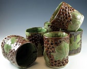 Pottery Wine Cups - Ceramic Tumblers