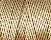 Tan C Lon Bead Cord Thread Nylon 92 yards