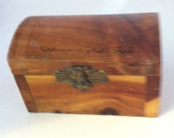 Vintage Souvenir Cedar Chest