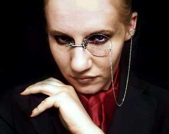 Gothic Monocle Cosplay Monocle Hellsing Monocle Walter Cosplay Anime
