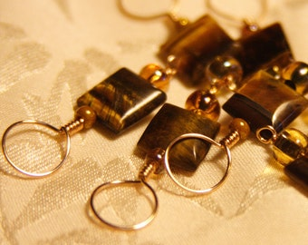 Tiger Eye Smooth Stitch Markers