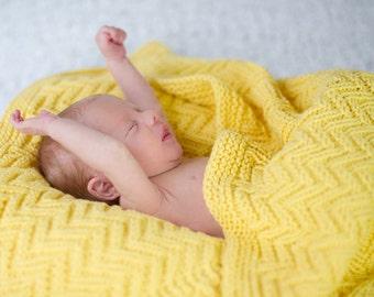 make your own Zagaround Blanket (DIGITAL KNITTING PATTERN) preemie infant toddler child blanket afghan