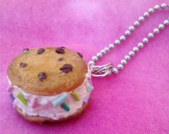 Ice Cream Sandwich Necklace