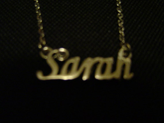 Sarah: Silver Tone (Necklace) - LAST ONE!