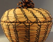 Pine Needle Basket, Forest Memories, 2nd Place Winner