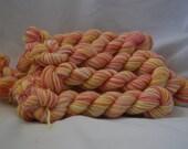 Mini skeins 30 meters 3-ply sock yarn - Parodia