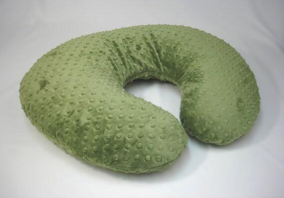 Nursing Pillow Cover Forest Green