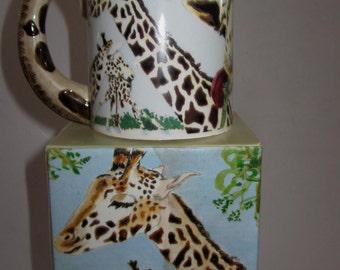 A Giraffe Ceramic Mug -  Item 4074
