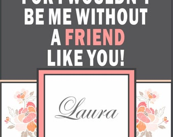 Custom Bridesmaid Non - Photo Wine Label - Will you be my Bridesmaid - Personalized Label - 8 Labels