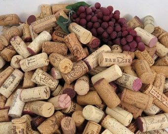 25+ Used Wine Corks, All Natural, Excellent Variety, No Champagne or Synthetics, Fast Shipping