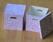 Miniature File Boxes 1:6 scale for your Barbie, Momoko, Blythe, Pullip, Doll Dioramas