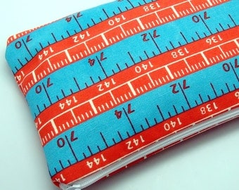 Large Zipper Pouch, Pencil Pouch, Gadget Bag, Cosmetic Bag, Measuring Tape (ZL-2)