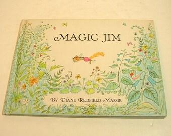 Magic Jim By Diane Redfield Massie Vintage Childrens Book