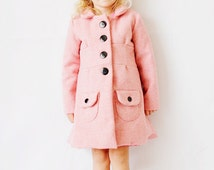 the BUBBLEGUM coat PDF pattern size 18M to 8