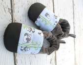 Classic Vegan Peter Panda / Non-Slip Soft Sole Shoes / Made to Order / Babies Toddlers Preschool