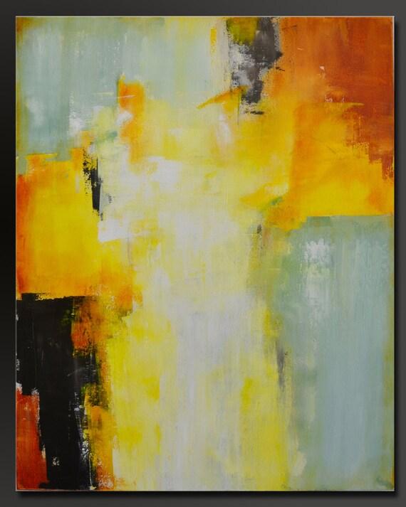 Sea Foam 30 x 24 Acrylic Abstract Fine Art Painting