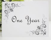 Wedding Guest Book Alternative--Wedding Reception Anniversary Cards----Time Capsule --Wedding Wishes--Table Cards