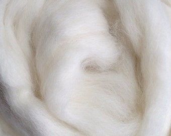 Alpaca Yarn Company - Baby Alpaca Top - Paca Puff -  WHITE - 2 ounces