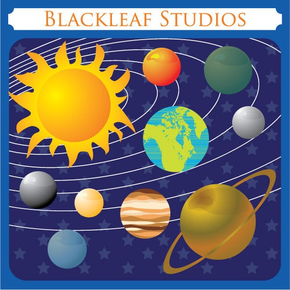 clipart planets solar system - photo #22