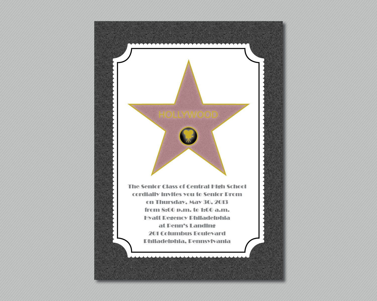 It's just a graphic of Monster Hollywood Star Template Printable