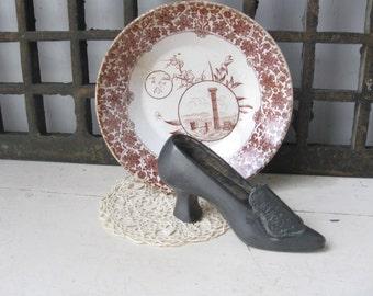 1920's Speltor Metal Shoe Souvenir, Prospect Falls, Oregon